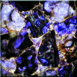 Purple Crystal semi-precious stone tile