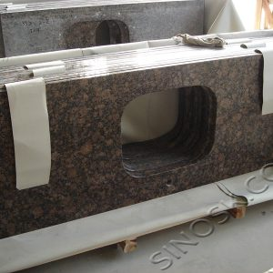baltic brown granite counterop