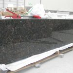 Tan Brown granite countertop